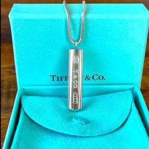 LikeNew Tiffany Bar Signature Large Thick Necklace